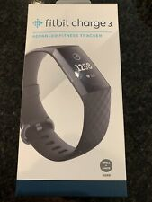 Fitbit Charge 3 Fitness Activity Tracker Graphite/Black New!!!