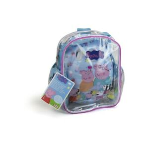 NEUF. SET PROTECTIONS CASQUE + COUDIERES + GENOUILLERES + SAC A DOS PEPPA PIG