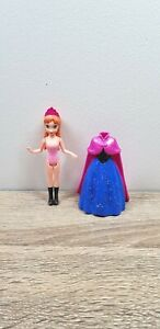 Disney Princess MagiClip Magic Clip Doll Anna Frozen Dress
