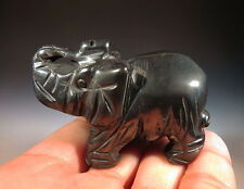 """2"""" Gorgeous Natural Hematite Crystal Carving Elephant, Nice Gift *1106"""