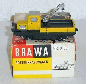 Brawa 0456 H0 DC Rottenkraftwagen Skl mit Kran, DB, OVP