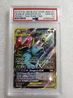 Pokemon Venusaur GX SM167 Full Art Ultra Rare Tag Team PSA 10 Gem Mint 🔥