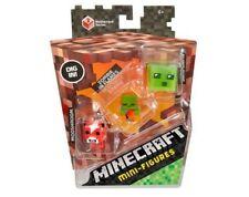 Action- & Spielfiguren Minecraft Overworld Stahl Golem 7.6cm Figur Artikuliert Brandneu in Box