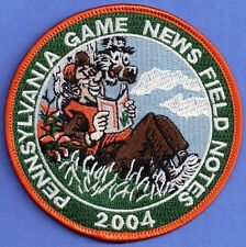 Pa Pennsylvania Game Commission PREMIER ISSUE 2004 Game News Field Notes Patch