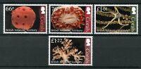 British Antarctic Territory BAT 2017 MNH Corals Coral 4v Set Marine Stamps