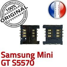 Original samsung galaxy mini gt s5570 sim card connector reader slot solder