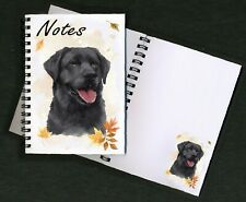 Labrador (black) Dog Notebook/Notepad + small image on each page - by Starprint