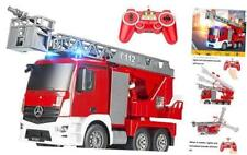 New Listing Remote Control Fire Truck 10 Channel Water Pump 18 Inch Extendable Ladder