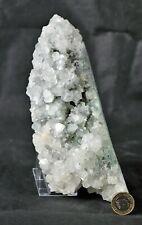 39) Large Apophyllite Crystal Cluster Zeolite Mineral India