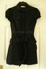 Miss Selfridge Vintage Gothique Dolly shirt tea dress Emo Lolita Casual Cosplay UK8 S