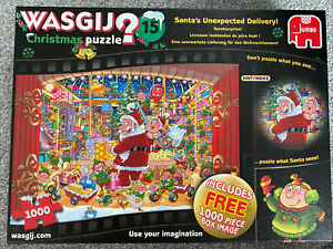 WASGIJ Original jigsaw 1000 piece -Santa's Unexpected Delivery No.15 (2 Puzzles)