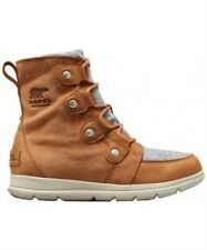 NEW Women's Sorel Explorer Joan NL3423 Boot Camel Brown 1876491-224
