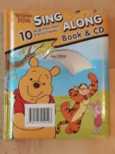 DISNEY WINNIE THE POOH SING ALONG BOOK & CD  10 songs