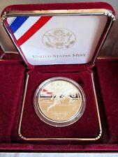 NIB US OLYMPIC COINS THE ATLANTA CENTENNIAL GAMES TRACK SILVER PROOF COIN 1995