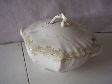"""MARKED WILKINSON STAFFORDSHIRE COVERED TUREEN  DISH  7"""" TALL X 10"""" WIDE 9"""" DEEP"""