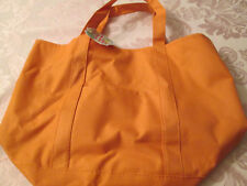 Fourre-Tout orange Tote Bag with front pocket