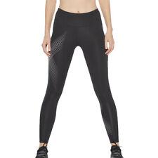 2XU женский средней высоты компрессионные колготки для занятия низ брюки Брюки черные спортивные