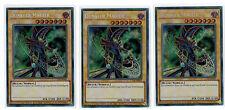 3 x dunkler magicien ct14-de001,edition limitée,secret rare, Playset, Allemand