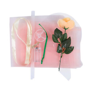 LED Light Balloon Rose Bouquet with Rose Flowers Bobo Balls Valentine's Day Gift