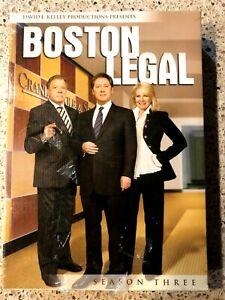 DVD TV Series BOSTON LEGAL Season 3 New Still Sealed