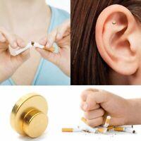 2 x Aimants Auriculaire Tabac Stop Cigarettes Arrêter Fumer Magnétisme Oreille
