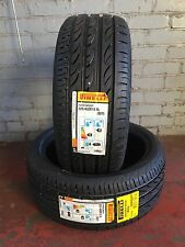 2 NEW 2254018 225 40 18 PIRELLI PZERO NERO GT 92Y EXTRA LOAD TWO TYRES