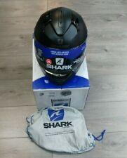 SHARK RIDILL KMA MATT BLACK FULL FACE MOTORCYCLE HELMET XL