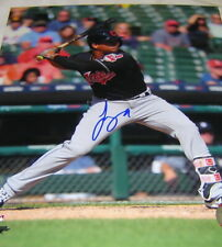 Francisco Mejia Signed 8x10 Cleveland Indians/San Diego Padres right handed