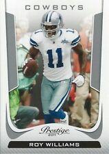 Roy Williams 2011 Panini Prestige NFL Trading Card #56 Dallas Cowboys