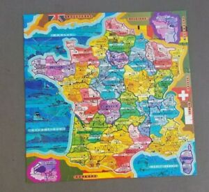 France Jigsaw Puzzle French Regions Champagne Brittany Paris