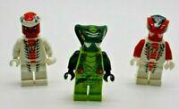 LEGO 3 x Ninjago Mini Figuren  ** Fang-Suei + Snappa + Spitta ** Snake Schlangen