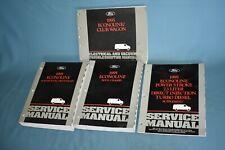 1995 Ford Econoline Club Wagon W/7.3L Powerstroke Service Shop Repair Manual Set