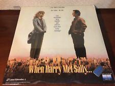 Laserdisc WHEN HARRY MET SALLY 1989 Meg Ryan NEW / SEALED / UNOPENED LD #2