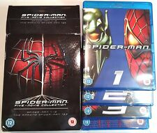 SPIDER-MAN FIVE-MOVIE COLLECTION Opened 5 Film BLU-RAY Set Trilogy Amazing 1 & 2