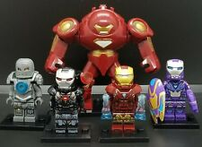 Ironman Set Of 5 Minifigs Mark1 Rescue Patriot Hulkbuster Building Toy Free Ship