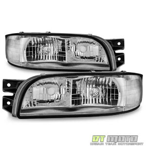 1997 1998 1999 Buick LeSabre Headlights w/Corner Headlamps Replacement 97 98 99