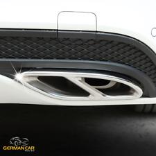 Endrohre Blenden Ramen AMG OPTIK für Mercedes W212 W166 C292 W117