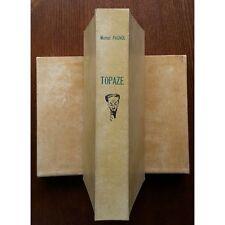 TOPAZE de Marcel PAGNOL Aquarelle Gaston BARRET Eau-Forte Roberts STERKERS 1947
