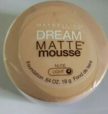 MAYBELLINE DREAM MATTE MOUSSE FOUNDATION Light Nude Brand New