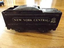 Old Vintage Lionel Gauge Train Metal NEW YORK CENTRAL Black Marlines Coal Car