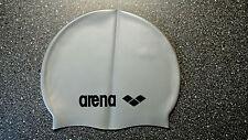 Arena Badekappe, Bademütze, silber, Training,   NEU ( 1445 )