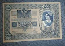 More details for austria/hungary 1000 kronen 1902 banknote 51541 1663