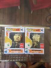 Dragon Ball Z Vegeta Gold Chrome 2018 SDCC Funko Pop Vinyl In Hand