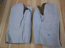 Handschuhe DDR 3 Finger Leder / Stoff Größe 3 Winterdienst ZV W505