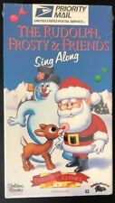The Rudolph Frosty & Friends Sing Along VHS Tape 1996 NEW SEALED