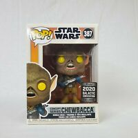 Funko Pop Star Wars Chewbacca Concept Series 2020 Galactic Convention *MINT*
