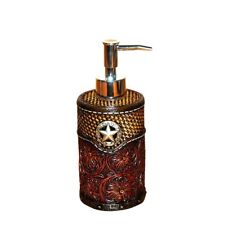 Montana West Soap lotion Dispenser Lone Star Resin Western Country Home Decor