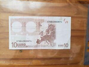 Billet de 10€ ultra-rare de 2002