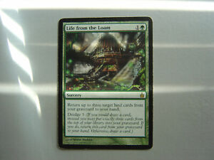 Life from the Loam - Ravnica City of Guilds - Magic the Gathering - MTG - RAV