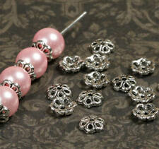 50pcs Quaste Perlenkappen Endkappe perlen Für Schmuckherstellung //